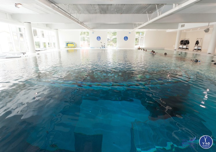 The Y 40 Indoor Swimming Pool In Italy Is The World S Deepest At 137 Feet