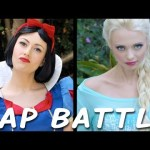 Snow White Takes on Elsa From 'Frozen' in a Furious Disney Princess Rap Battle