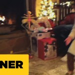 A Little Girl Accidentally Launches Her New Flying Fairy Toy Straight Into a Roaring Fireplace