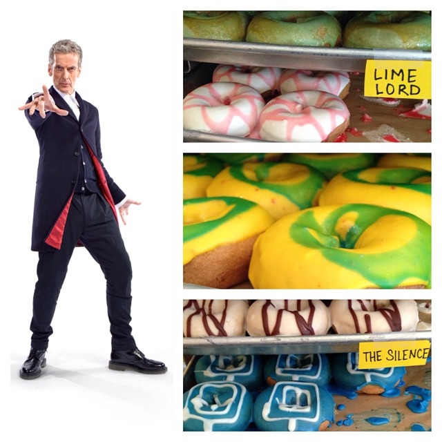 Whovian Donuts