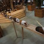 Japanese Zoo Creates a Wooden Boardwalk That Allows Guinea Pigs to Easily Commute From One Play Area to Another