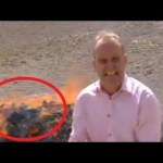 BBC Reporter Giggles His Way Through News Report While Standing Next to Burning Opiates That Got Him Very High