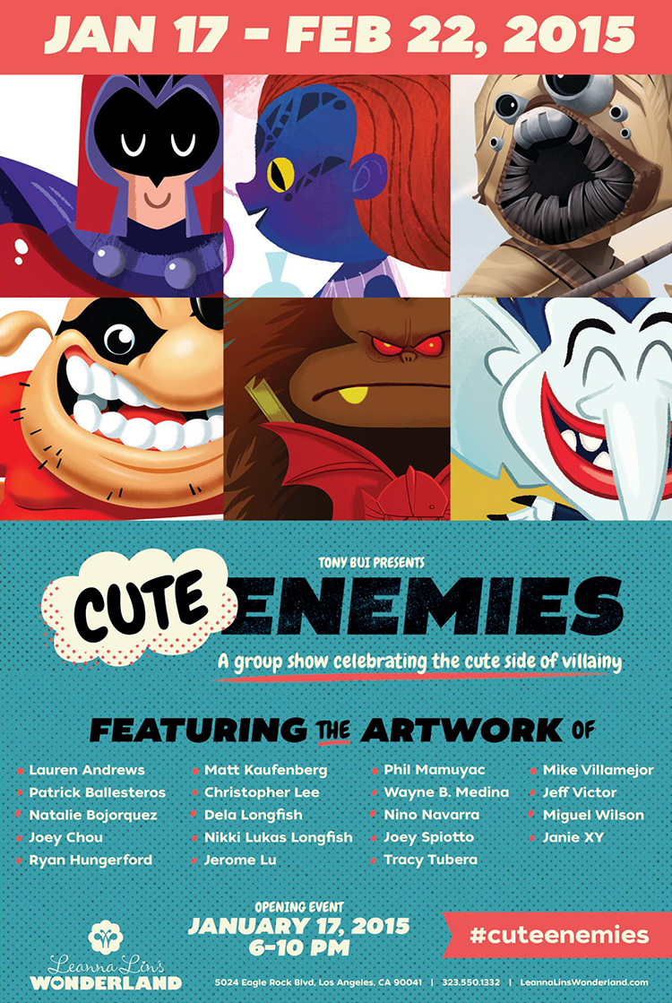 Cute Enemies Art Show