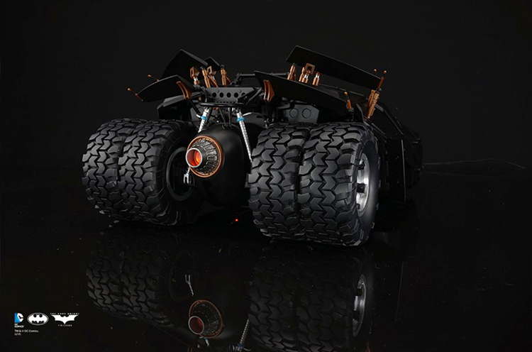 The Dark Knight Trilogy Tumbler