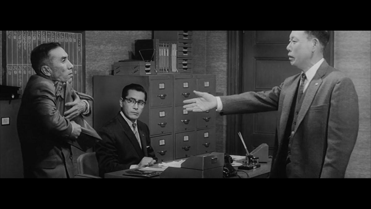 Akira Kurosawa U2019s Masterful Use Of Geometry In The Staging Of A Scene From The 1960 Film  U2018the Bad