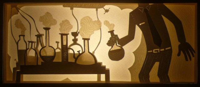 Cut Paper Sculptures by Nermin Er