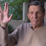 Leonard Nimoy Explains the Origins of Mr. Spock's Famous Vulcan Greeting Hand Gesture on 'Star Trek'