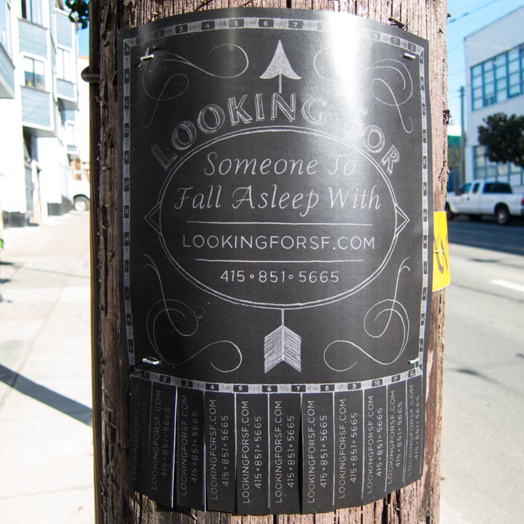 Looking For Love in San Francisco