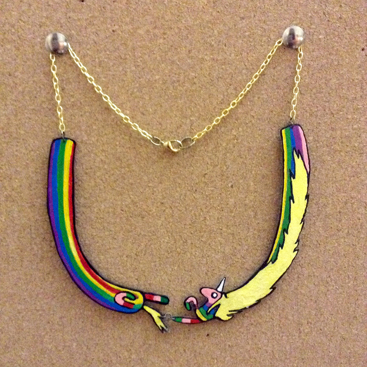 Lady Rainicorn Necklace