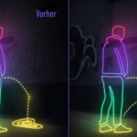 German Activists Coat Walls With a Superhydrophobic Substance to Splash Pee Back on Public Urinators