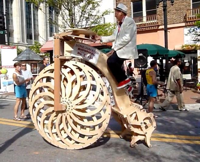 Theo Jansen Strandbeest Cycle by Ron Schroer