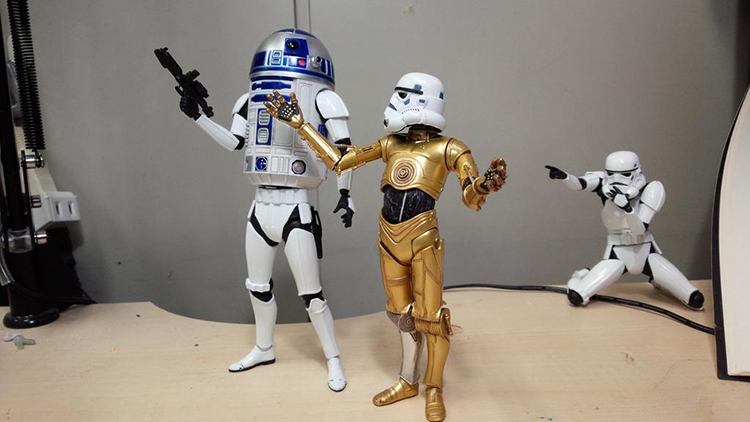 R2-D2 Action Figure