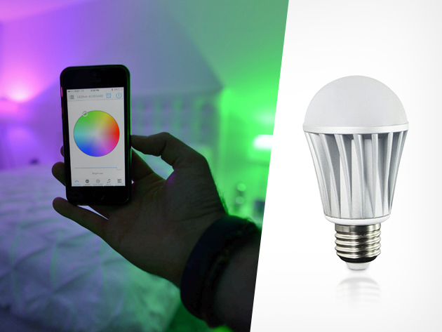 Smfx Smart Bulb A Long Lasting Light Bulb With Millions Of Color Options Controlled By A Smartphone