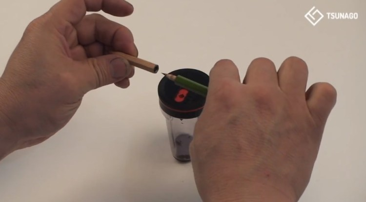 Clever Pencil Sharpener Connects Old Pencils Together