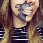 Makeup Artist Laura Jenkinson Recreates a New Series of Popular Cartoon Characters on Her Mouth