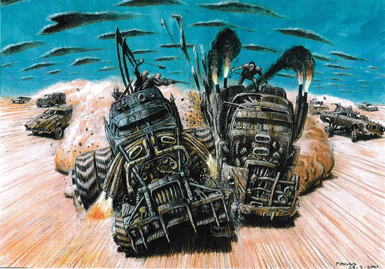 MAD MAX: FURY ROAD Concept Art