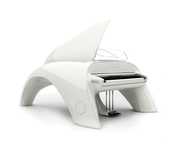 whaletone white piano side