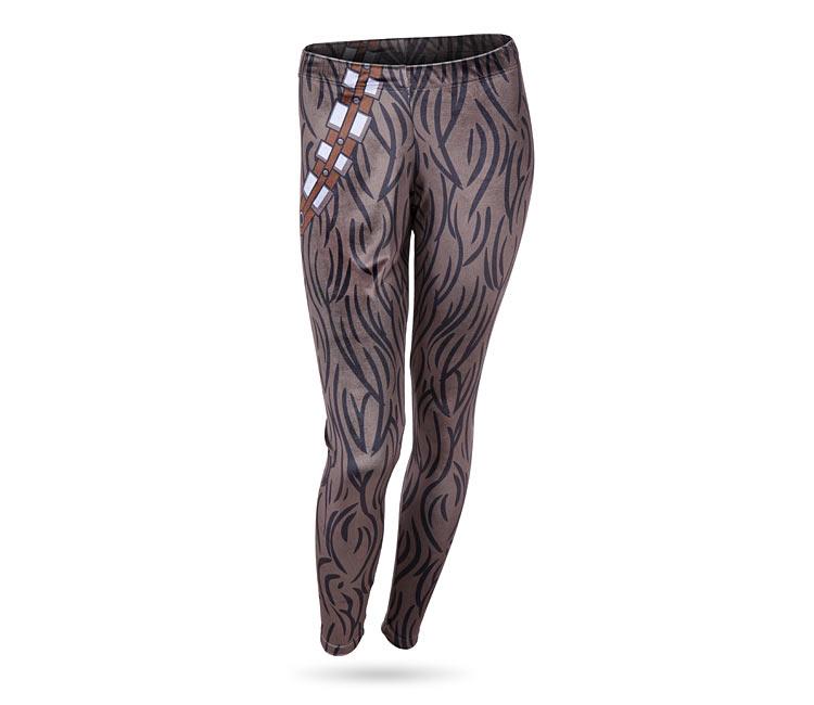 Chewbacca Velvet Leggings