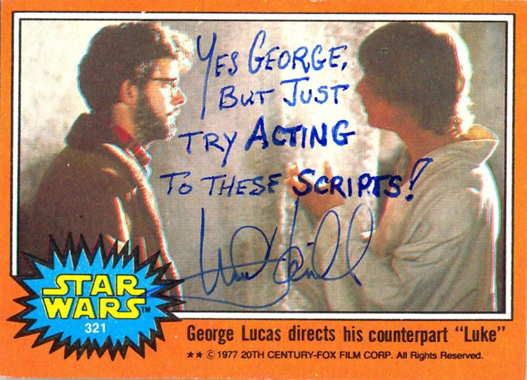 Mark Hamill Autographs