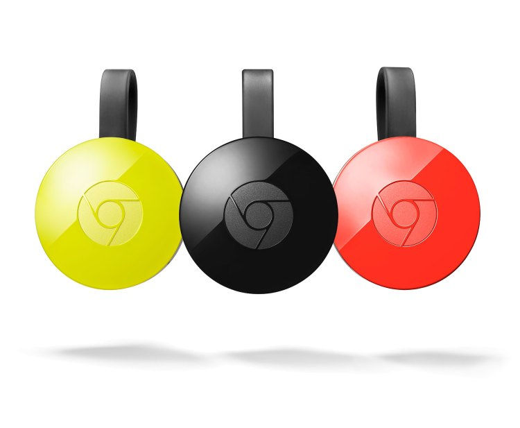 Chromecast Three Colors