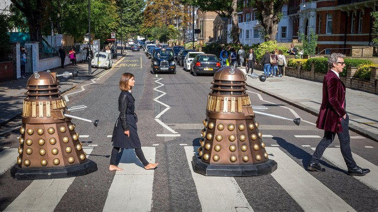 Doctor Who Dalek Abbey Road