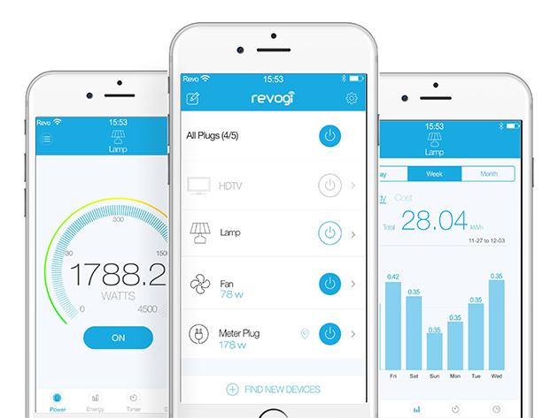 Revogi Smart Meter App