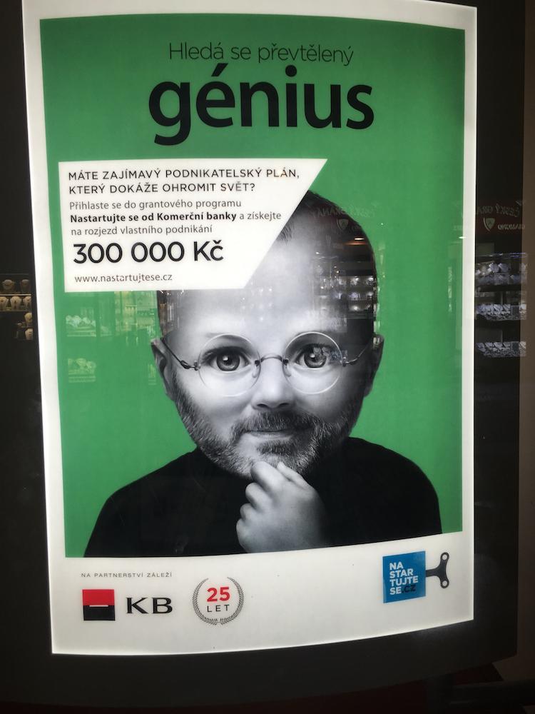 Baby Steve Jobs
