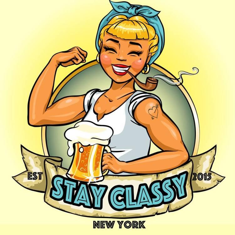 Stay Classy New York Logo