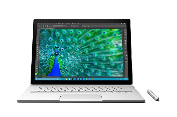 microsoft surface book peacock