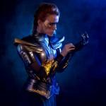 Marisha Ray Models a Full Set of Medieval 3D Printed Women's Sovereign Armor