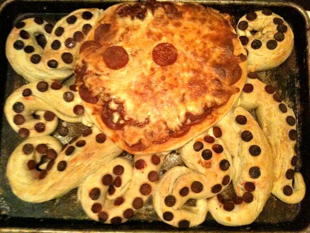 Octopizza Pie