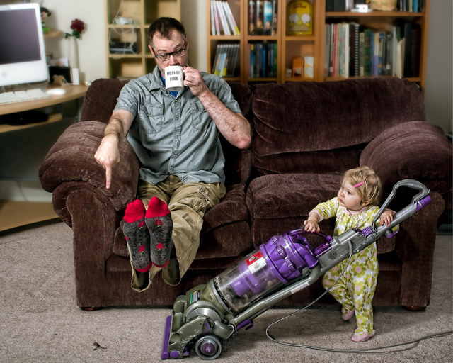House Cleaning - World's Best Father by Dave Engledow