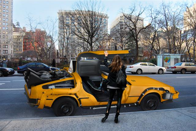 Delorean Taxi