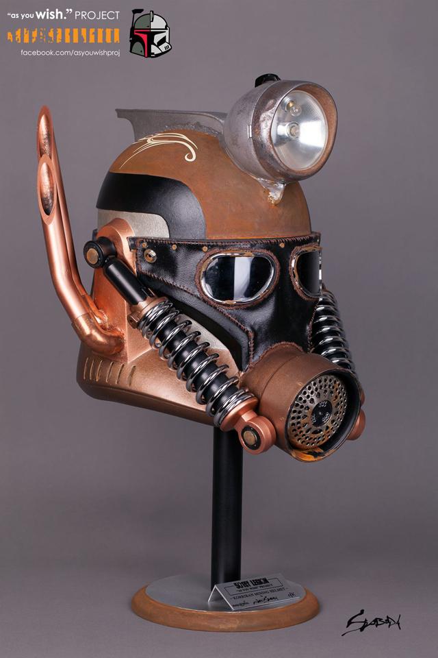 Korriban Mining Helmet by John Sloboda