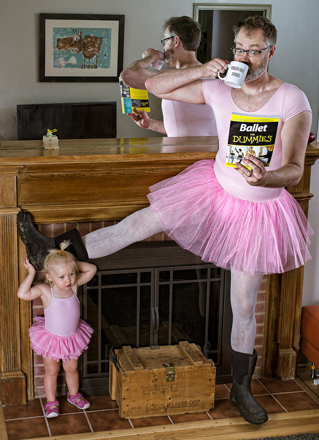 Ballet Master - World's Best Father by Dave Engledow
