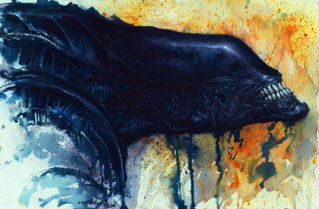 Alien by Jon Wayshak