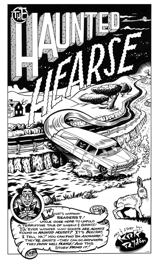The Haunted Hearse by KRK Ryden