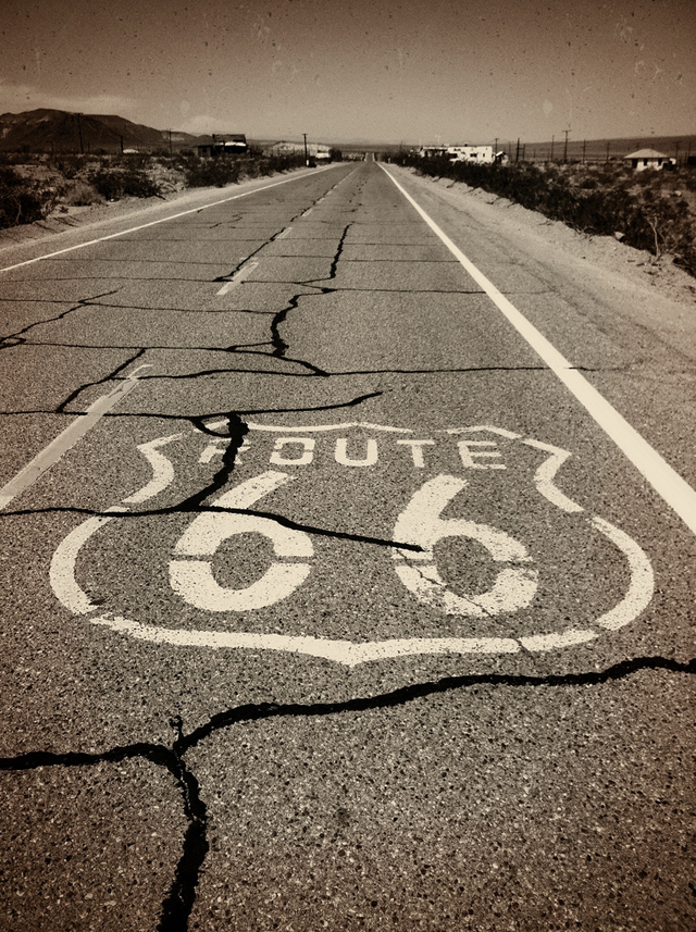 Old Route 66 - California photo by Brian DeFrees