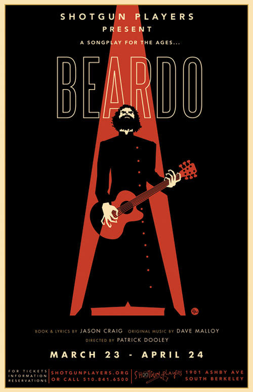 Beardo Poster by R Black