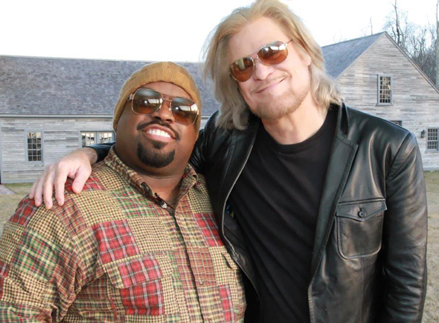 Cee Lo Green and Daryl Hall