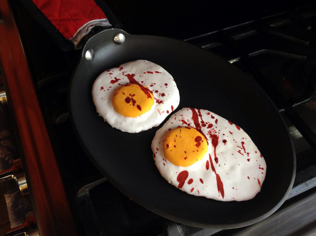 fried eggs dexter