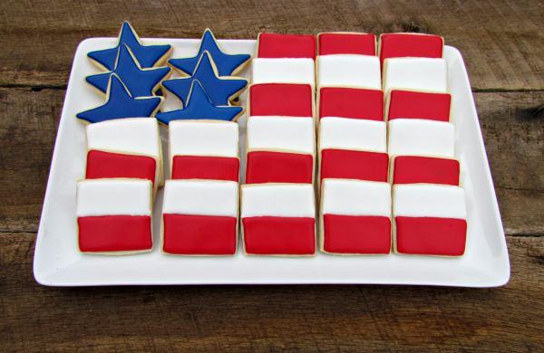 Flag Cookies