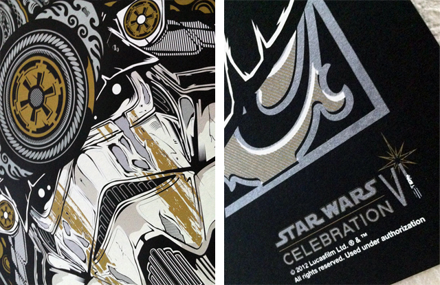 Samurai Trooper, Silk Screen Print by Joshua M. Smith / Hydro74