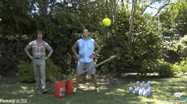 Bowling Trick Shots