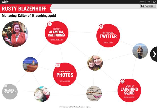 Vizify for Blazenhoff