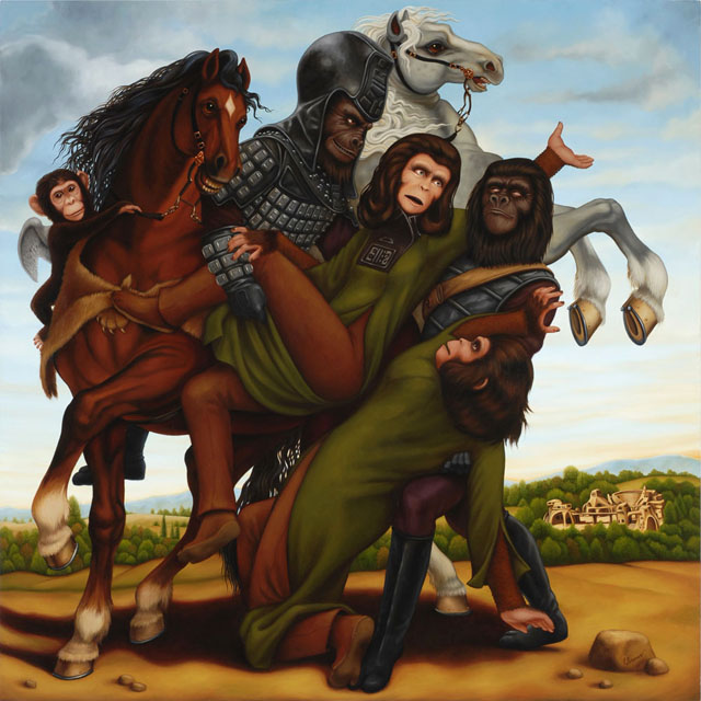 The Abduction of the Simian Women by Isabel Samaras