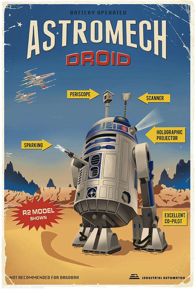 Astromech Droid by Steve Thomas