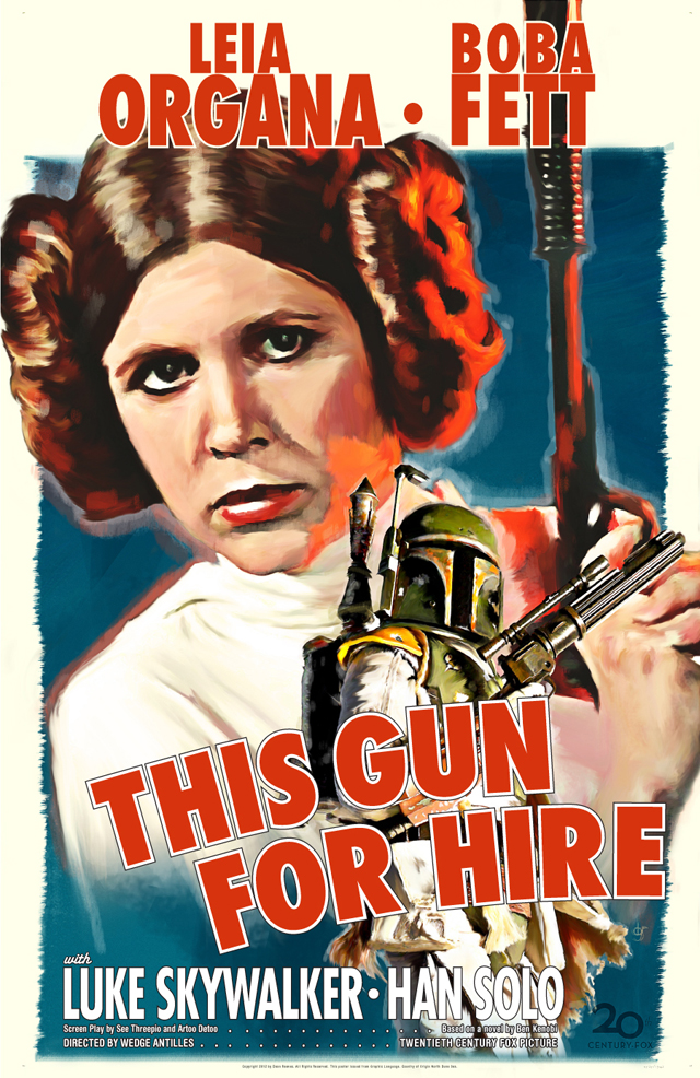 Fett Noir #1: This Gun For Hire by Dean Reeves