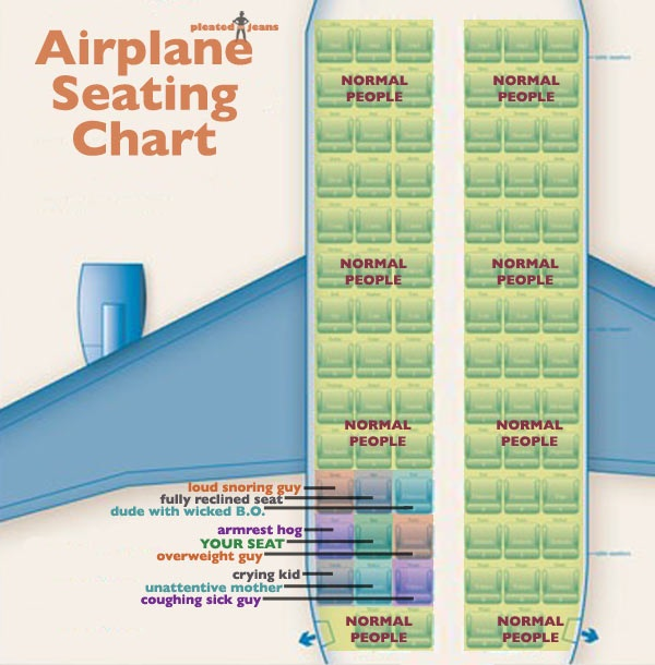 airplane-seating-chart