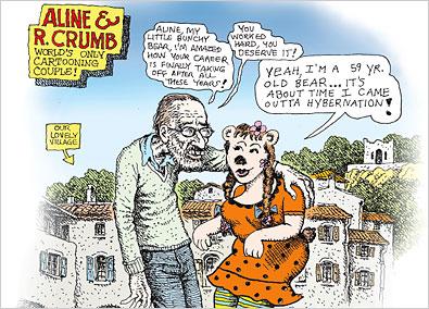 Aline & R. Crumb